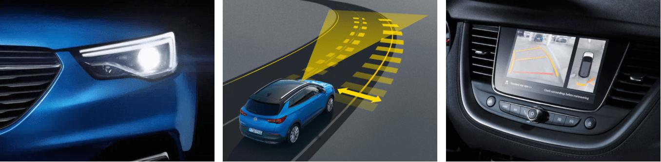 Opel Grandland X - Инновации