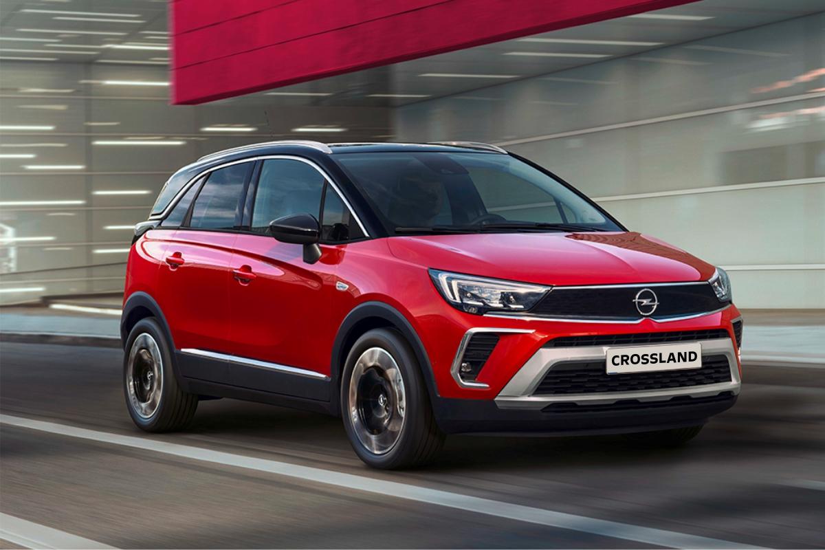 Новый Opel Crossland
