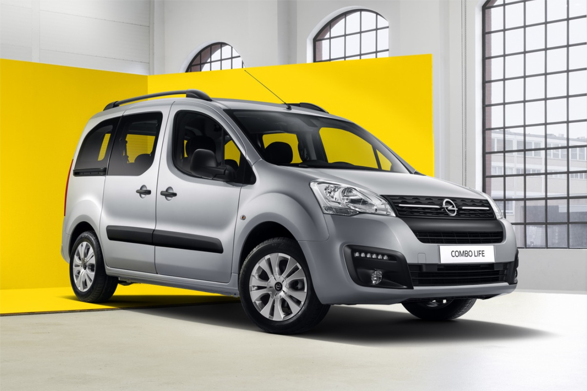 Новый Opel Combo Life